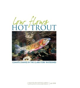 Low flows hot trout report cover