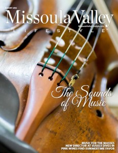Missoula Lifestyles August issue brianna randall cover story on symphony