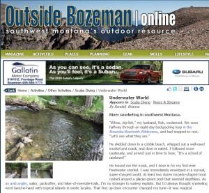 OutsideBozeman-Snorkeling-BriannaRandall-June2015